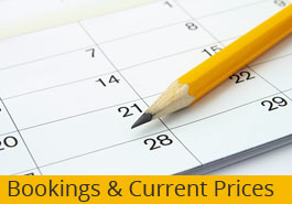 Bookings & Prices
